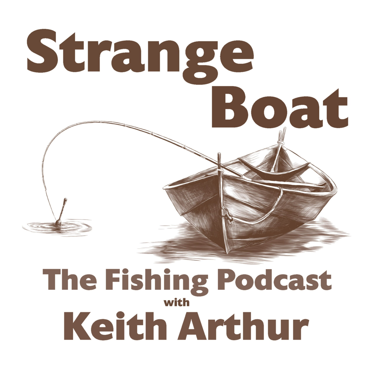 Strange Boat - The Fishing Podcast 17: The Strange Boat sets to sea with Dave Barham