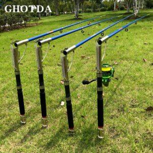 GHOTDA Automatic Fishing Rod 1.8-2.7M Telescopic