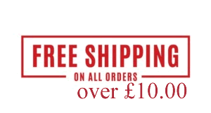 Free shipping over £10.00