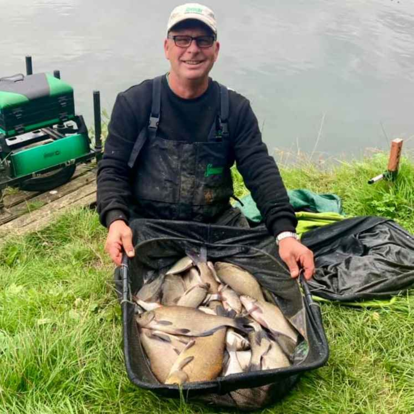 Two Pints of Maggots & A Packet of Hooks -  The Fishing Podcast 5: Episode 5 - With Special Guest Darran Bickerton