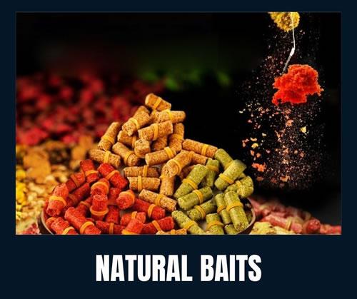 natural fishing baits